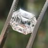 2.39ct Antique Asscher/Square Emerald Cut Diamond, GIA D/IF 11