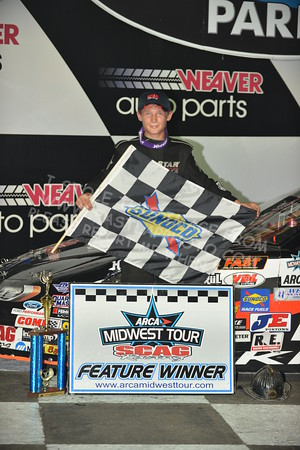 "ARCA Midwest Tour ""Bill Meiller Memorial 101"" Victory Lane"