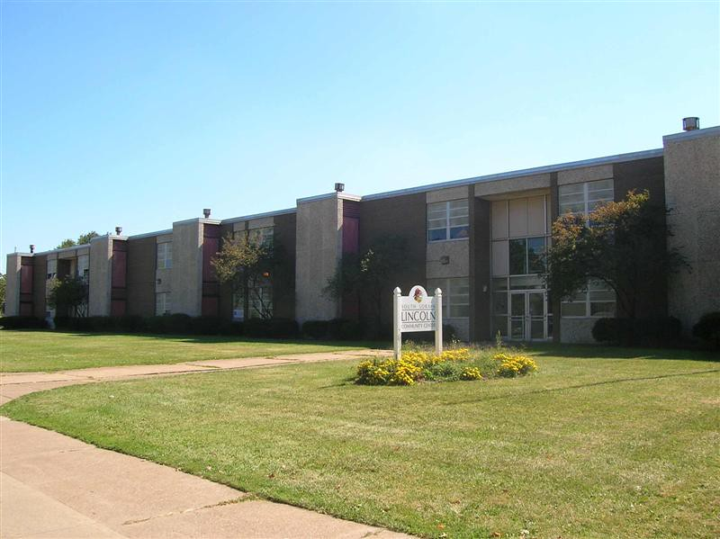 . Historic photo provided by Jim Smith <br> The second Lincoln School was built in 1967 on East 32nd Street in Lorain, and was closed in 2005. It was demolished in 2008, and was replaced by Stevan Dohanos Elementary School, 1625 E. 32nd Street.