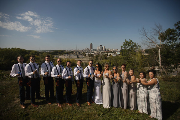 Bridal Party City View