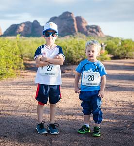 Pre Race  Mountain Goat Kids