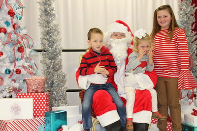 Breakfast With Santa hosted by Xi Alpha Delta Rho