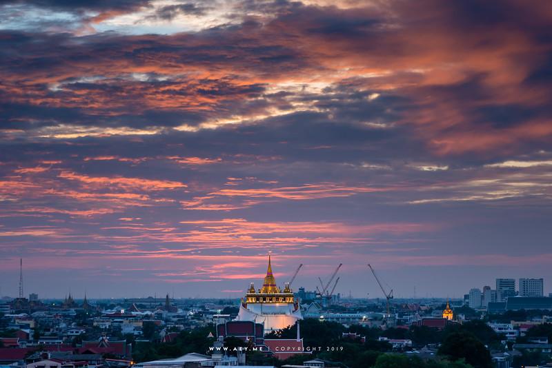 Viewpoint of Traditional Bangkok