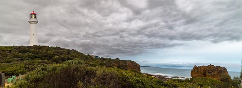 Split Point Lighthouse and Eagle Rock