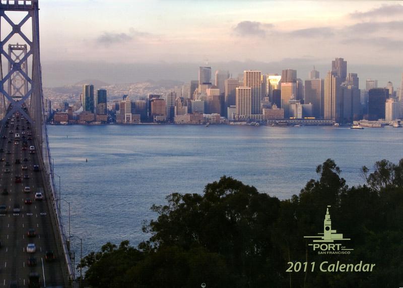 Port of San Francisco Calendar cover 2011