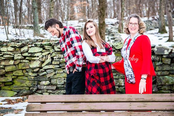 Adrienne's family 2018