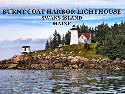 Burnt Coat Harbor Lighthouse, Swans Island, Maine