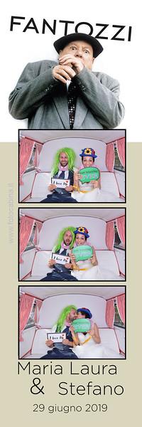 Photo booth matrimonio Maria Laura e Stefano totem photobooth