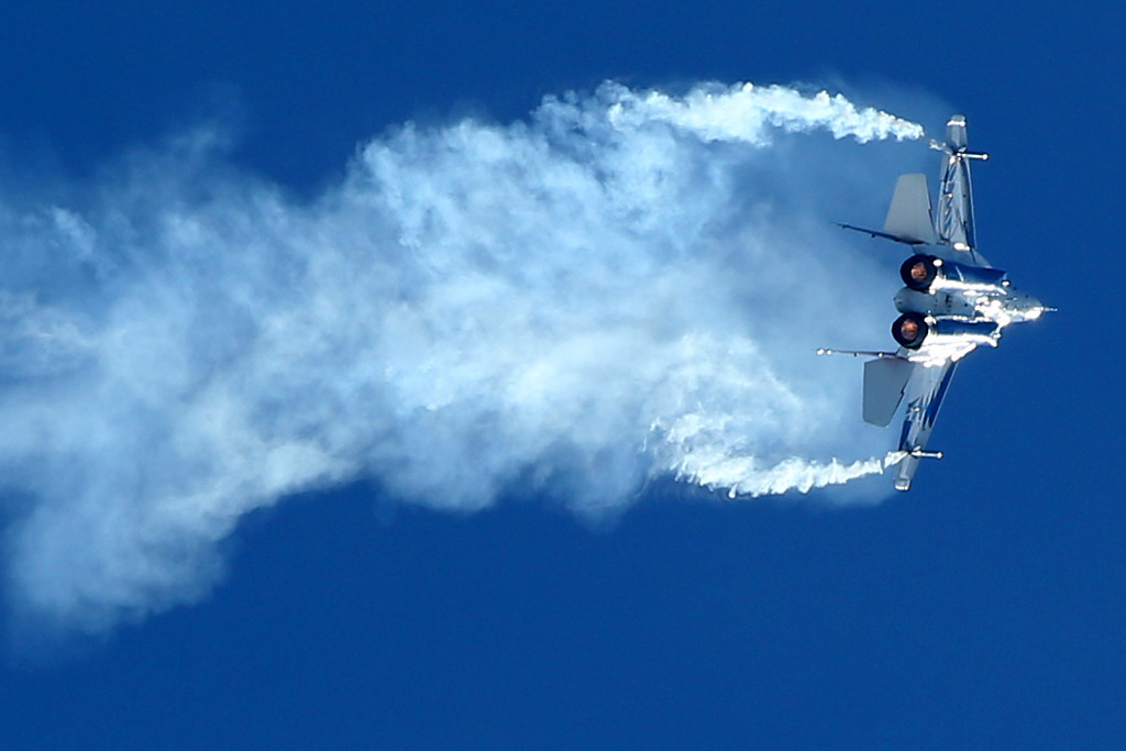 . A Russian fighter Mig-29 OVT performs during the MAKS-2013, the International Aviation and Space Show, in Zhukovsky outside Moscow on August 27, 2013. AFP PHOTO/KIRILL KUDRYAVTSEV/AFP/Getty Images