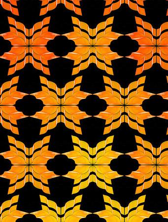 Neon Lights in patterns