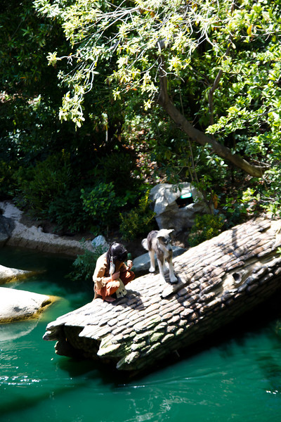 Indians on The Rivers Of America