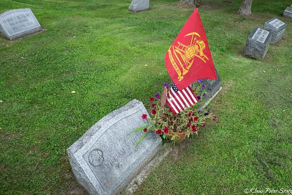 Glenwood and St. Mary's Cemetery, Watkins Glen, NY 2015