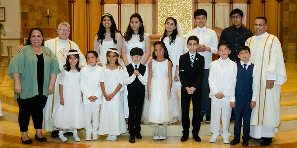 First Communion Groups Pics
