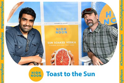 High Noon Vodka Launch