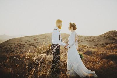 Alexandria & Brandon. Married.