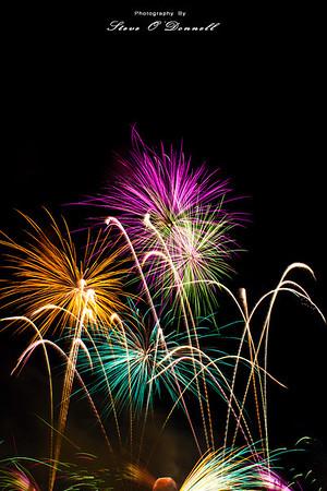 Disney's Epcot Fireworks