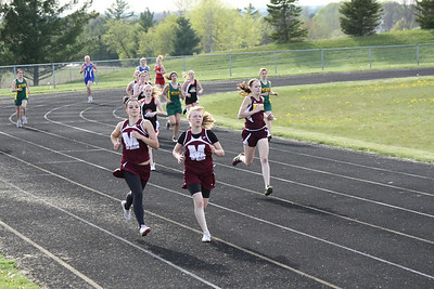 Girl's 800 Meters - 2012 Mid Mich Invite