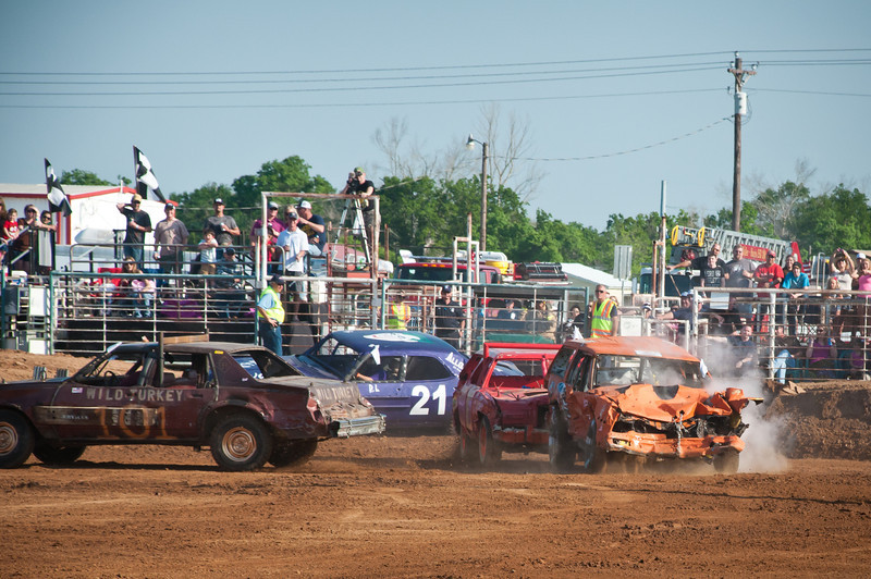 White Dove Of Hope Demolition Derby