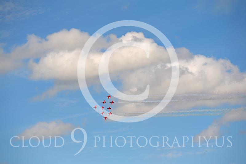 Red Arrows 00022 British RAF Red Arrows by Peter J Mancus.JPG