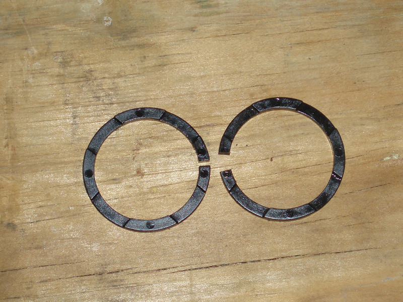 DAMPER RING END GAP
