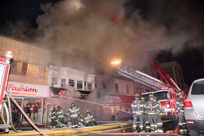 Main St. 4th Alarm Fire (Paterson, NJ) 2/5/18