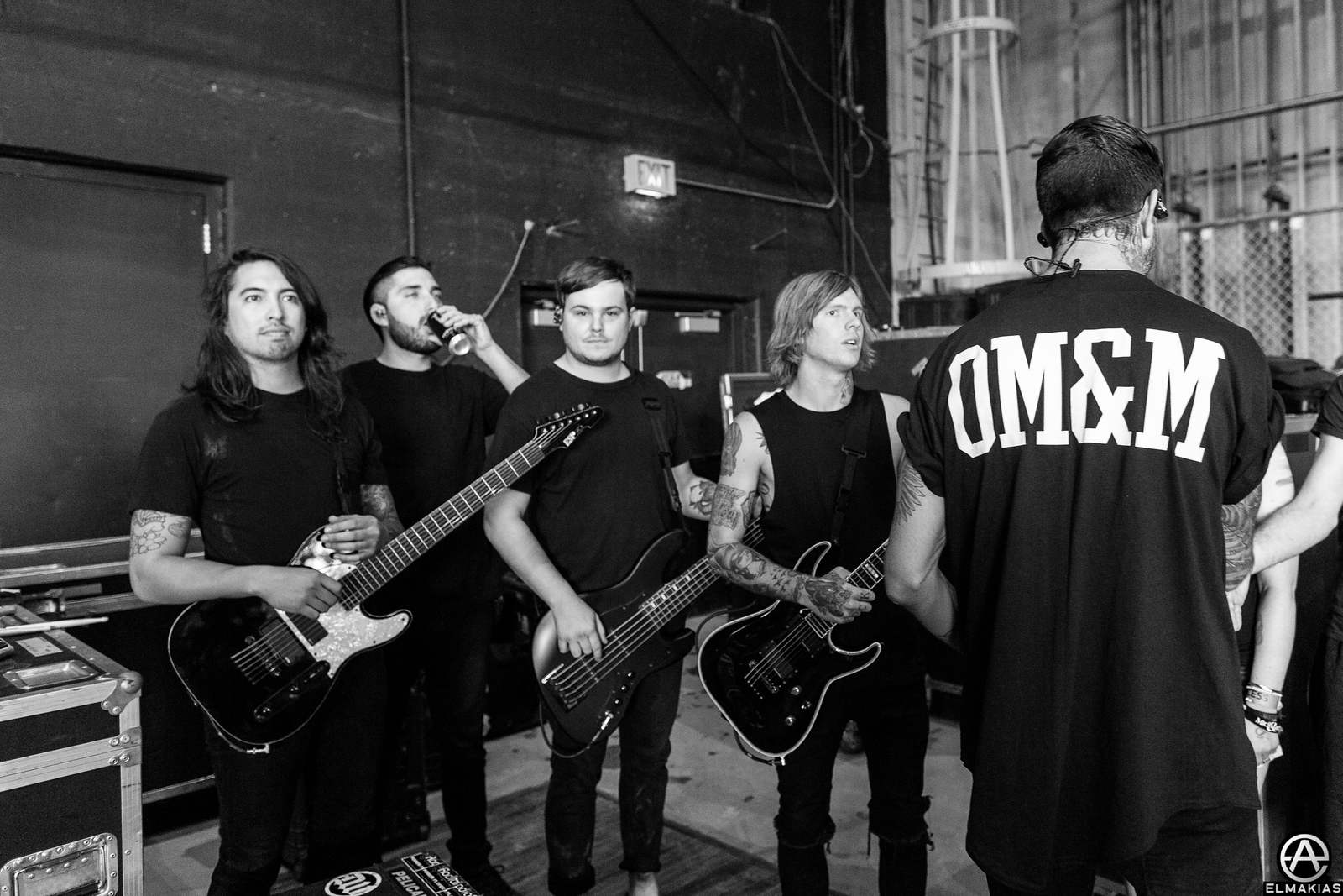 Of Mice & Men even closer to going on stage