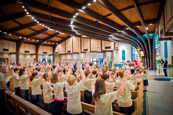 St. Teresa School - 2012 Catholic Schools Week