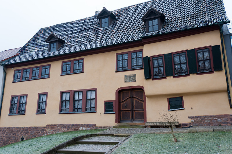 The Bach House in Eisenach, Germany