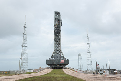 Mobile Launcher Roll to 39B