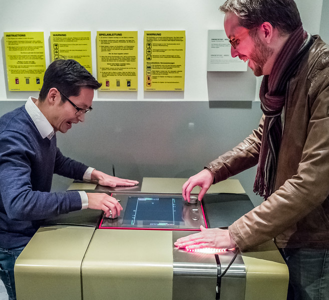 Pain Station in Computerspielemuseum, Berlin