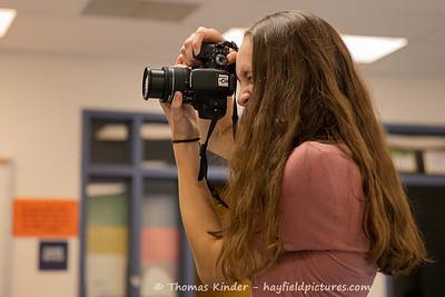 Yearbook Journalism Class 9/6/19