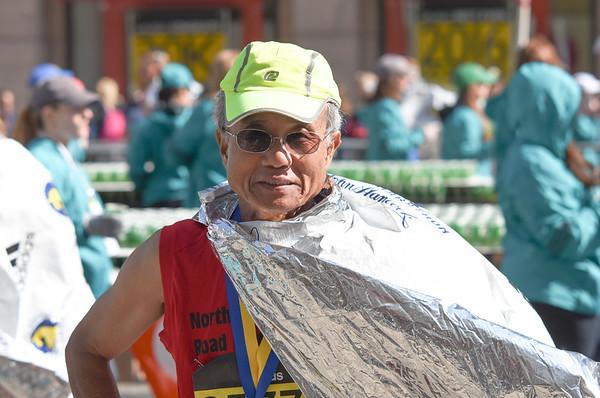 Dr. Lee in Boston Marathon,2016