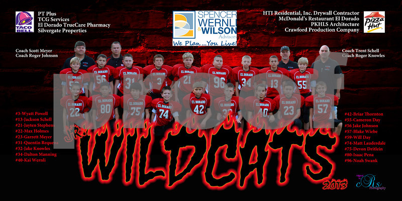 2013 Jr. Wildcats Football