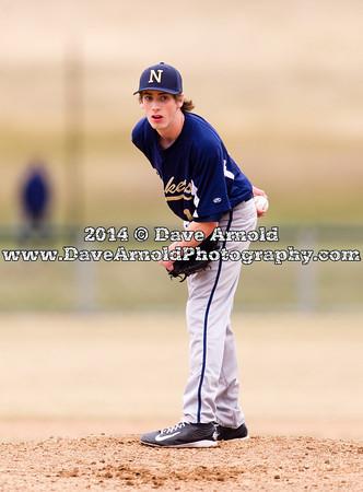 4/7/2014 - Varsity Baseball - Walpole vs Needham