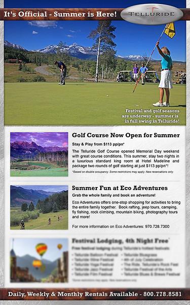 Telluride Ski Resort advertising