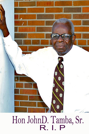 Hon John D Tamba