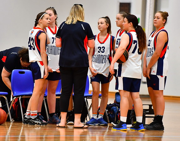 "2019 JUNIOR CARNIVAL Div 1 ""U16"" Girls Great Southern Slammers v Hornets Eastern Hills"