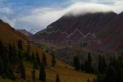 Cloudveil in the Gore Range, CO