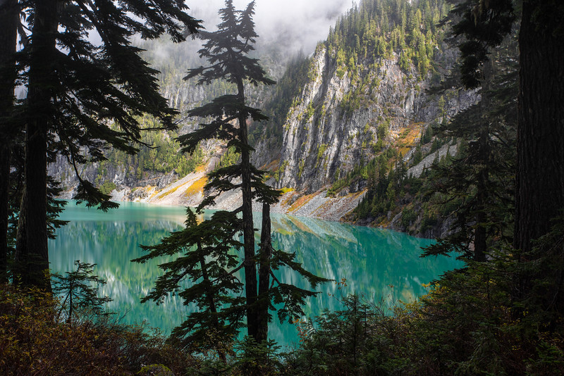 Fall time at Blanca Lake, WA 2014