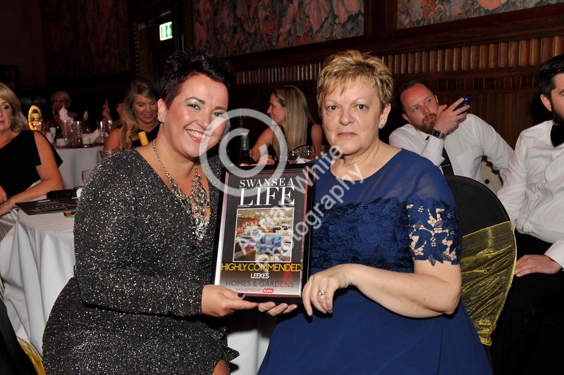Swansea Life Awards 2017 Brangwyn Hall, Swansea Homes and Gardens Runners Up... Leekes