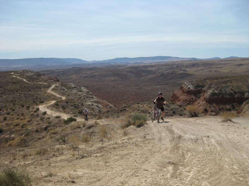 Lone hiker