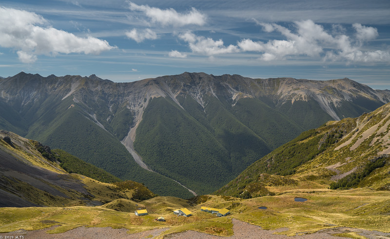 Ridge Track from Angelus Hut to St. Arnaud