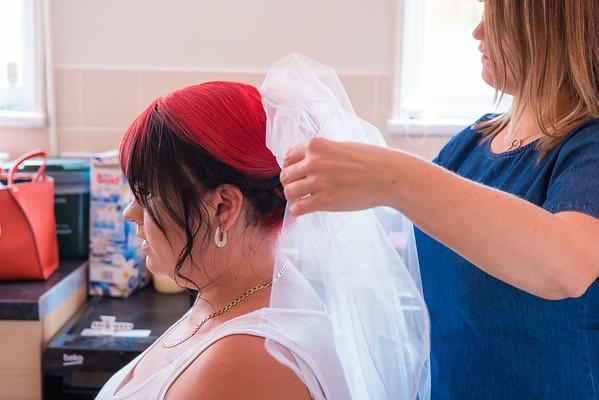 Bridal preparartions