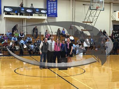 Women's Basketball Senior Day (2/20/16)