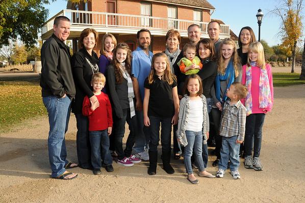 Judy K Family - Dec 2011