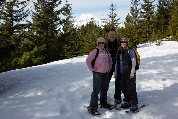 2019-01-26 Snowshoeing on White Pass: Forest Road 1284