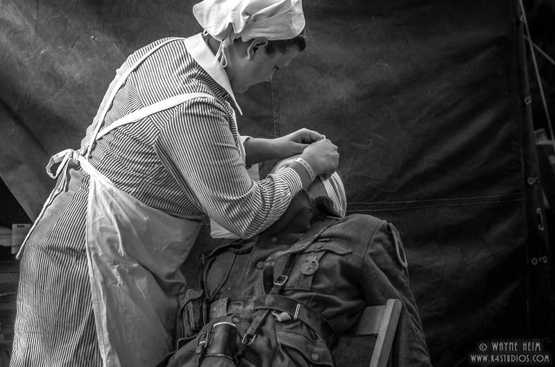 Bandage Up    Photography by Wayne Heim