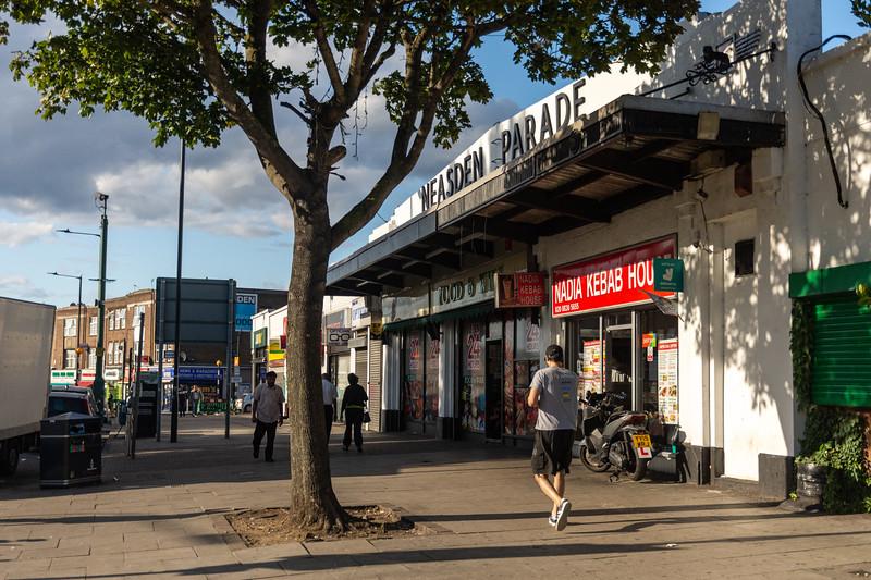 Neasden Parade shops