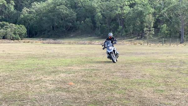 Cornering - Dargle NSW August 2019