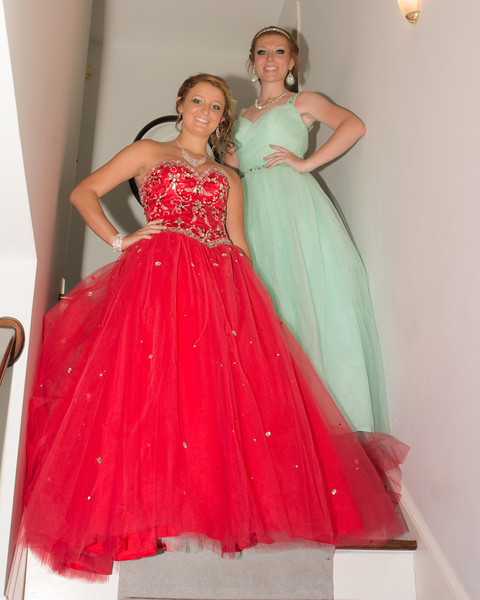 Emily Church and Friends Prom 2014